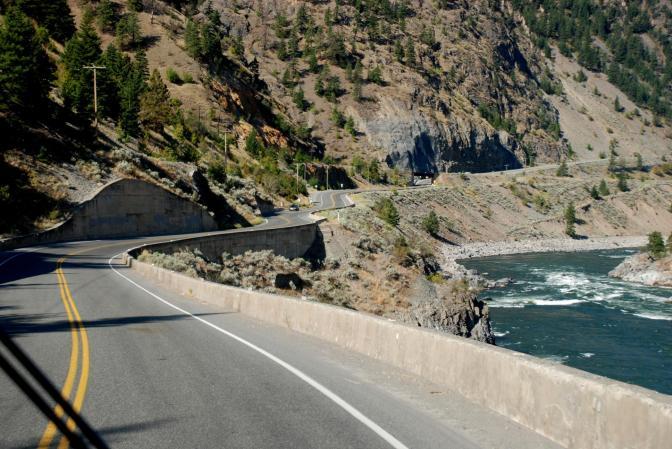 Le canyon Fraser